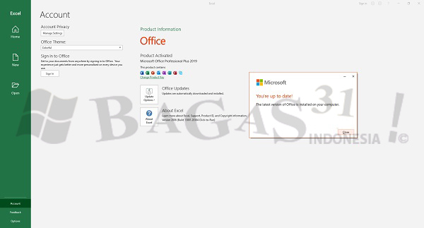Microsoft Office 2019 Pro Plus v2008 Build 13127.20378 September 2020