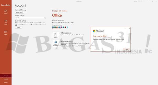 Microsoft Office 2019 Pro Plus v2009 Build 13231.20262 September 2020