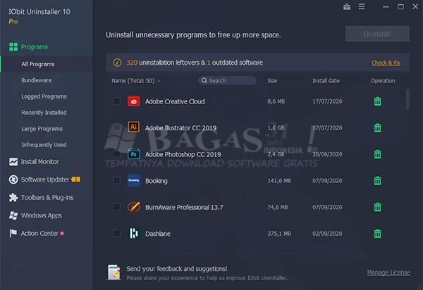 IObit Uninstaller Pro 10.0.2.21 Full Version 2