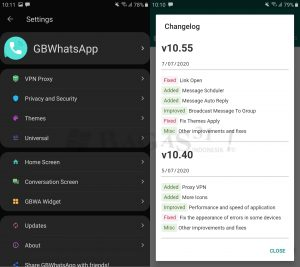 GB WhatsApp 10.55 Apk 5