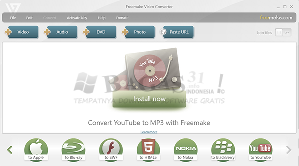 Freemake Video Converter 4.1.11.77 Full Version