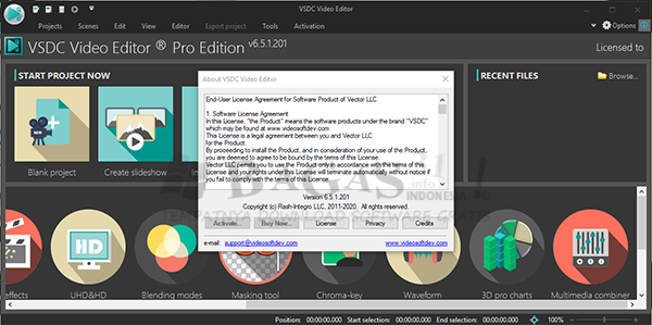 VSDC Video Editor Pro 6.5.1.201 Full Version