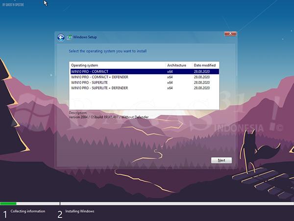 Windows 10 LITE v2004 Build 19041.508 September 2020