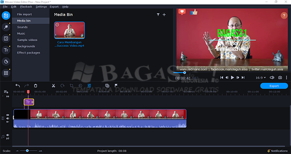 Movavi Video Editor Plus 21.0.0 Full Version