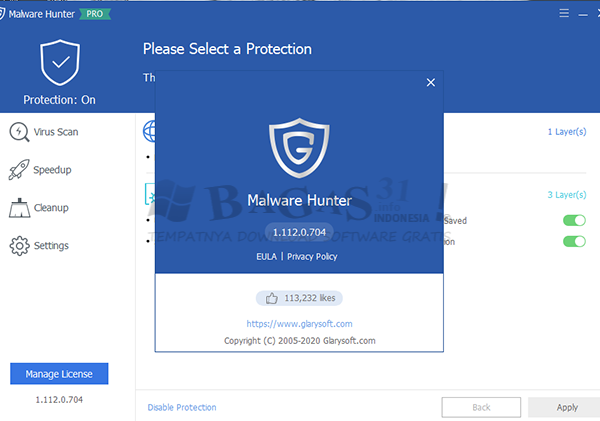 Glarysoft Malware Hunter Pro 1.112.0.704 Full Version