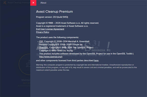 AVAST Cleanup Premium 20.1 Build 9413 Full Version