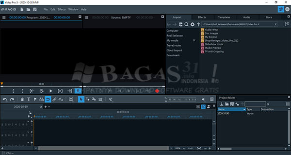 MAGIX Video Pro X12 v18.0.1.89 Full Version