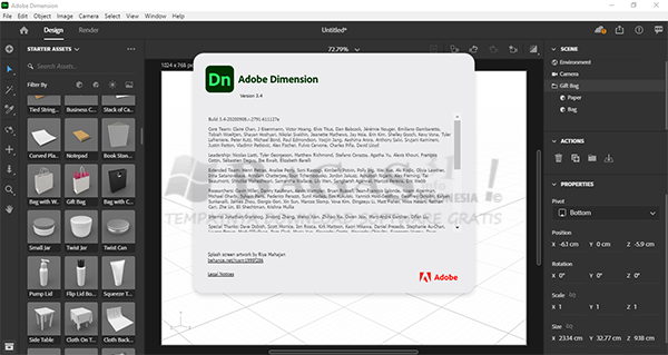 Adobe Dimension CC 2020 3.4.0.2791 Full Version