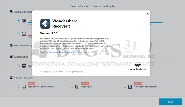 Wondershare Recoverit Ultimate 9.0.6.20