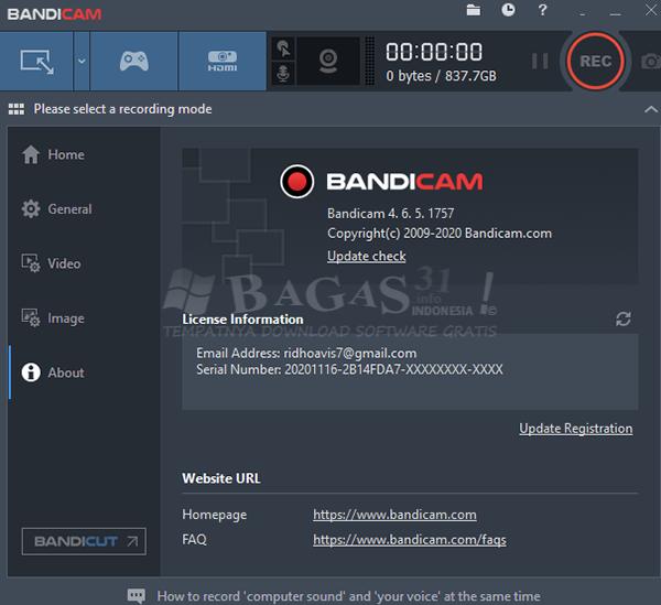 Bandicam 4.6.5.1757 Full Version