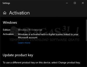 windows 10 digital activation