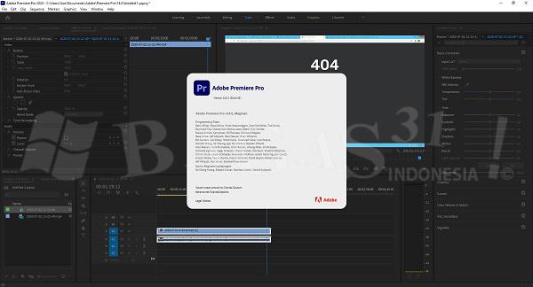 Adobe Premiere Pro 2020 v14.7.0.23 Full Version