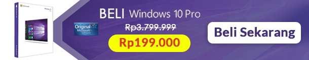 Beli Lisensi Windows 10