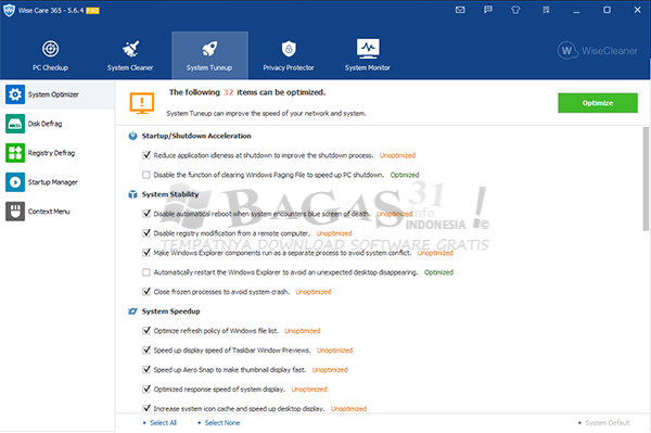 Wise Care 365 Pro 5.6.4.561 Full Version