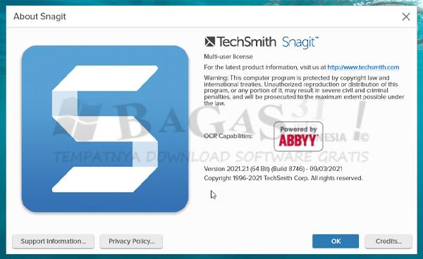 TechSmith Snagit 2021.2.1