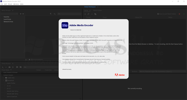 Adobe Media Encoder CC 2021