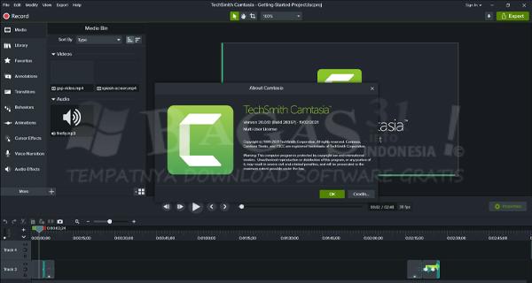 TechSmith Camtasia Studio 2019.0.10