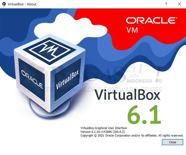 Virtualbox 6.1.20 Build 143896