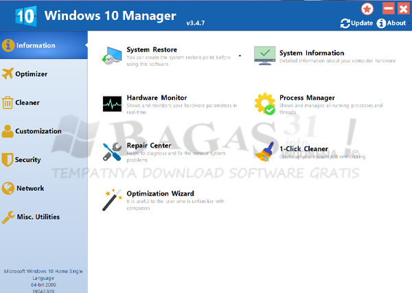 Windows 10 Manager 3.4.7