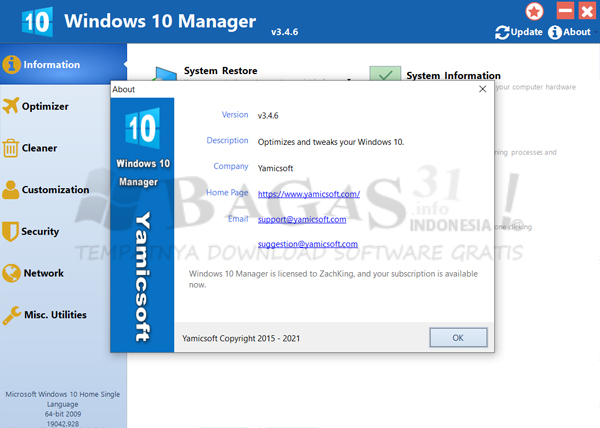 Windows 10 Manager 3.4.6