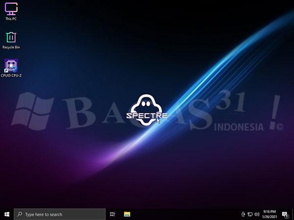 Windows 10 LITE v2009 Build 19043.1021 Mei 2021