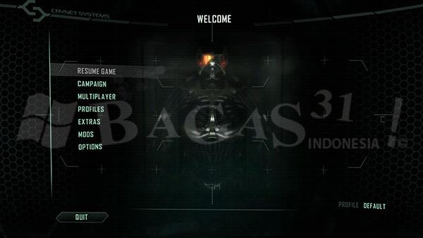 Versi Lengkap Crysis 2 Edisi Maksimum